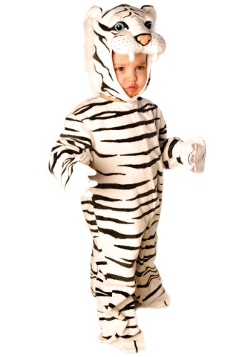 Underwraps Costumes Baby's Tiger, White, Medium (18 - 24 Months)