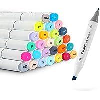 Ohuhu 80 Colors Dual Tips Permanent Marker Pens Art...