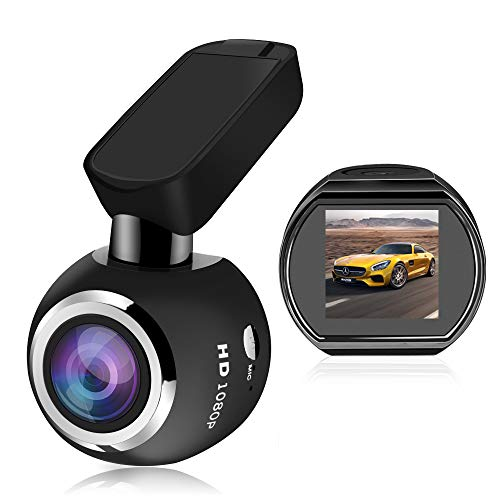 Dash Cam, SIV Car Driving Recorder Full HD 1080P Car DVR,WiFi Car Dash Cam 1.54 LCD 170 Degree Extra Wide View Angle Car Camera Recorder, G-Sensor, WDR, Loop Recording