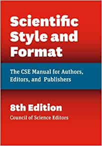 the cse manual for authors editors and publishers seventh edition