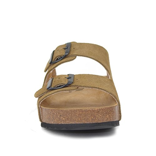 PLAKTON Women's Clogs & Mules Brown BApbK