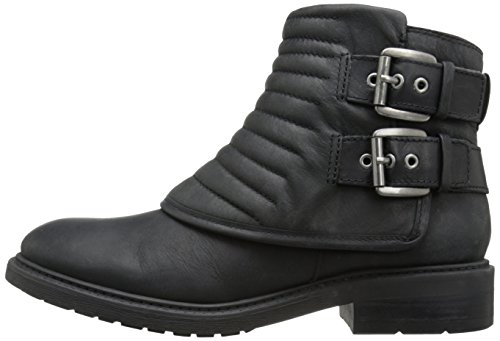 Black 5 West Leather Boot Women's Us Gingham M Nine wvXq7ff