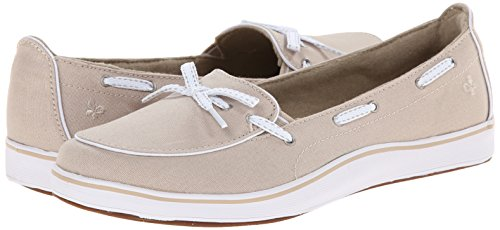 Grasshoppers Women's Windham Slip-On, Stone, 8.5 W US by Grasshoppers (Image #6)