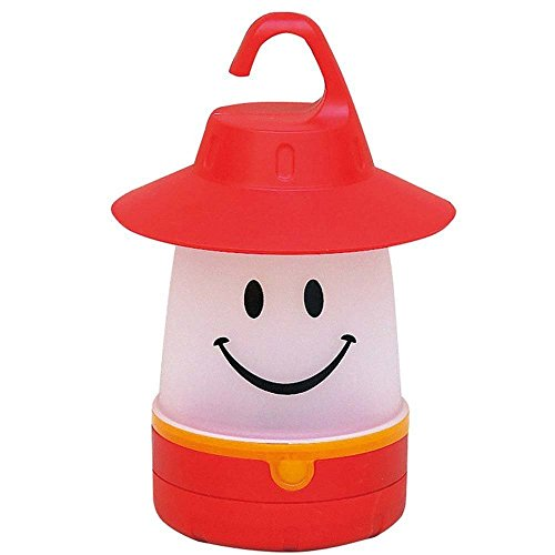 Smile lantern, Smiley Face LED Night Light Portable Moving Table Lamp for Indoor Outdoor Decorate Kids Room Hallway (Red)-Megach Review
