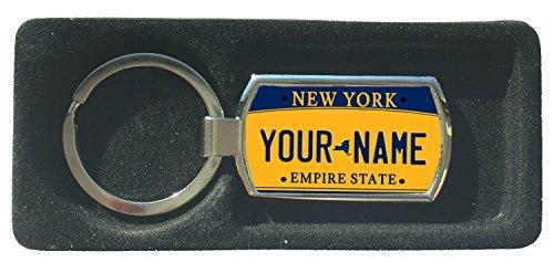 BleuReign(TM) Personalized Custom Name New York State License Plate Metal - Plate Custom York New