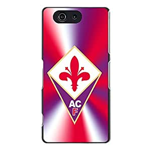 Sony Xperia Z3 Compact Fiorentina Football Club Phone Case,Fashion Creative ACF Fiorentina Logo Premium Printed Protective Case Cover