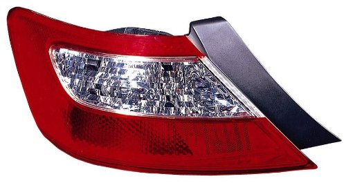 Unknown HO2818132V OE Replacement Honda Accord Driver Side Taillight Lens//Housing Partslink Number HO2818132