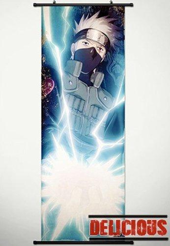 Home Decor Japanese Anime Naruto Cosplay Wall Scroll Poster