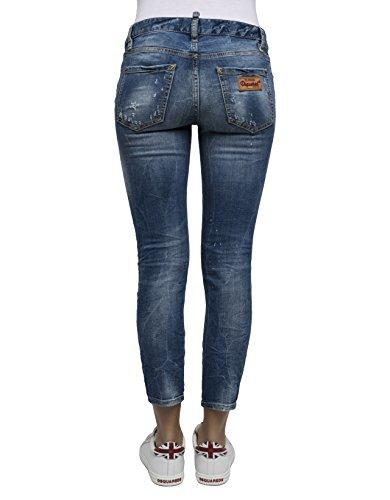 DSQUARED2 Damen S75LA0854S30505470 Blau Baumwolle Jeans vMW1aK5