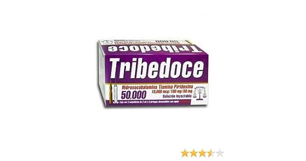 Amazon.com: TRIBEDOCE COMPUESTO COMPLEJO B (50,000) MULTIVITAMINICO: Health & Personal Care