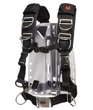 (Hollis Elite 2 Technical/Recreational Diving Harness System, MD-LG)