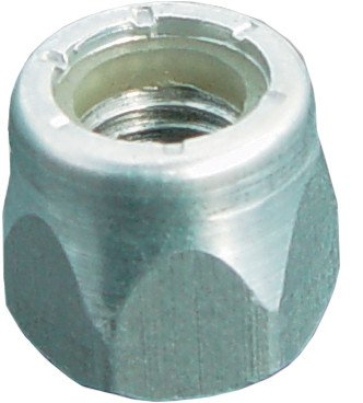 Woodys Short Nuts with Nylon Inserts - 1.175in. - 1.325in. Stud Length ALN2-4500