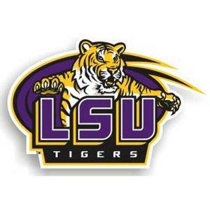 NCAA Louisiana State Fightin Tigers 12-Inch Magnet
