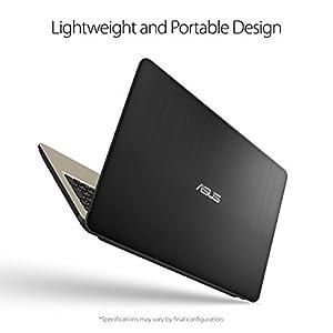"ASUS Laptop X540UA-DB31 , Intel Core i3-8130U Processor, 4GB DDR4 RAM, 1TB FireCuda SSHD, 15.6"" FHD Display, Micro SD Card Reader"
