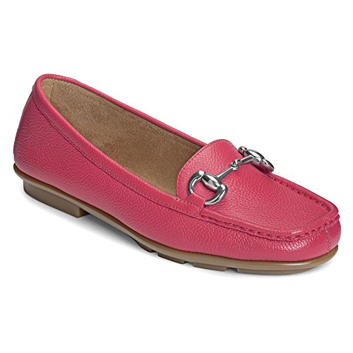wsworthy Slip-On,Dark Pink Leather,US 9.5 M (Dark Pink Leather Footwear)