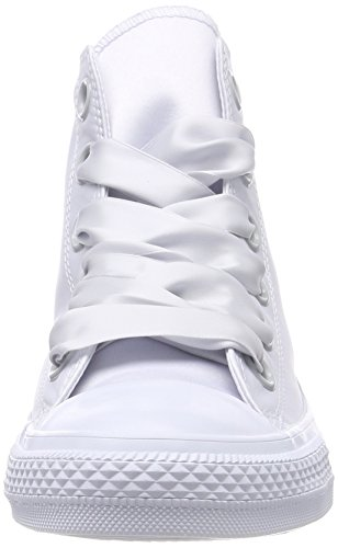 Pure Platinum Pure Grau Big Platinum Pure Eyelets Platinum 082 Converse Women's Platinum Hi Pure Platinum Pure CTAS White Trainers Top Zq7Bzfwgc
