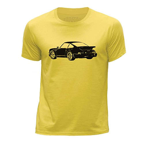 Amazon.com: Stuff4® Boys Round Neck T-Shirt/Stencil Car Art/911 Turbo 82: Clothing