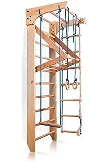 Espaldera para Gimnasio, Niños de Juegos ˝Sportwood˝ Escalera Sueca, Centro de actividades, Gimnasia de los niños en casa: Amazon.es: Bebé