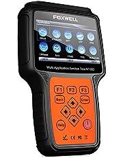 Foxwell — Leitor de código automotivo multiaplicativo NT650 scanner Obd2 ABS/Airbag/SAS/EPB/DPF/BRT/EPS/CVT/ferramenta de verificação de diagnóstico de serviço especial para redefinição de óleo do carro