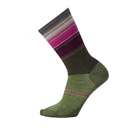 Sulawesi Mujer Para Stripe Heather Smartwool Loden Calcetines Socken FqxSWwpO