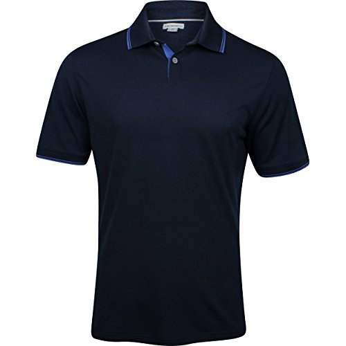 Ashworth Men's Classic Golf Polo (2XL, Navy)