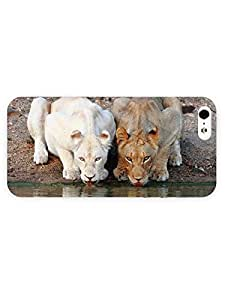 3d Full Wrap Case For Sony Xperia Z2 D6502 D6503 D6543 L50t L50u Cover Animal Lionesses Drinkin
