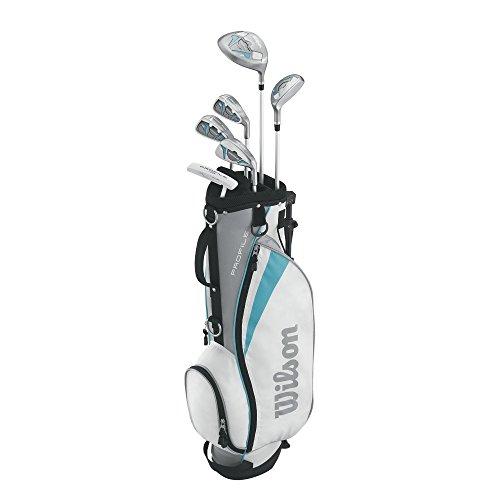 Wilson Women's Profile Junior Complete Package Golf Set, Rig