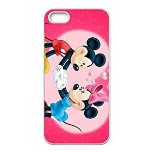 Disney Mickey Mouse Minnie Mouse iPhone 4 4s Cell Phone Case White 6KARIN-255928