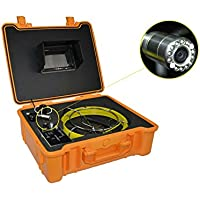 Eyourlife NEW 50M Sewer Waterproof Camera Pipe Pipeline Drain Inspection System 7LCD DVR