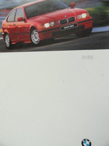 1997 BMW 318ti 318 ti Sales Brochure