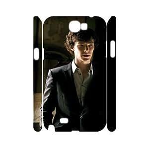 C-EUR Sherlock Customized Hard 3D Case For Samsung Galaxy Note 2 N7100
