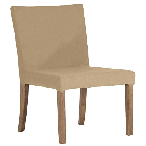 arne ダイニングチェア 北欧 木製 椅子 チェアー 背もたれ 日本製 JOY 【Mサイズ】【肘なしタイプ】【ブラウン脚】 モダン ベージュ B07426GDB8 Mサイズ/肘なしタイプ|ベージュ ベージュ Mサイズ/肘なしタイプ
