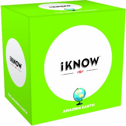 IKNOW Amazing Earth Trivia Game by Tactic Games US