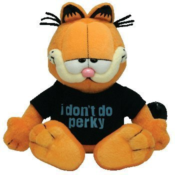 Ty Beanie Baby - Garfield The Cat (I Don't DO Perky) by Ty