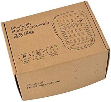 Wireless Speaker Shoulder Microphone Mic for Ham Motorola Radio with 2 Pin Earphone Jack TWAYRDIO Walkie Talkie Bluetooth Microphone