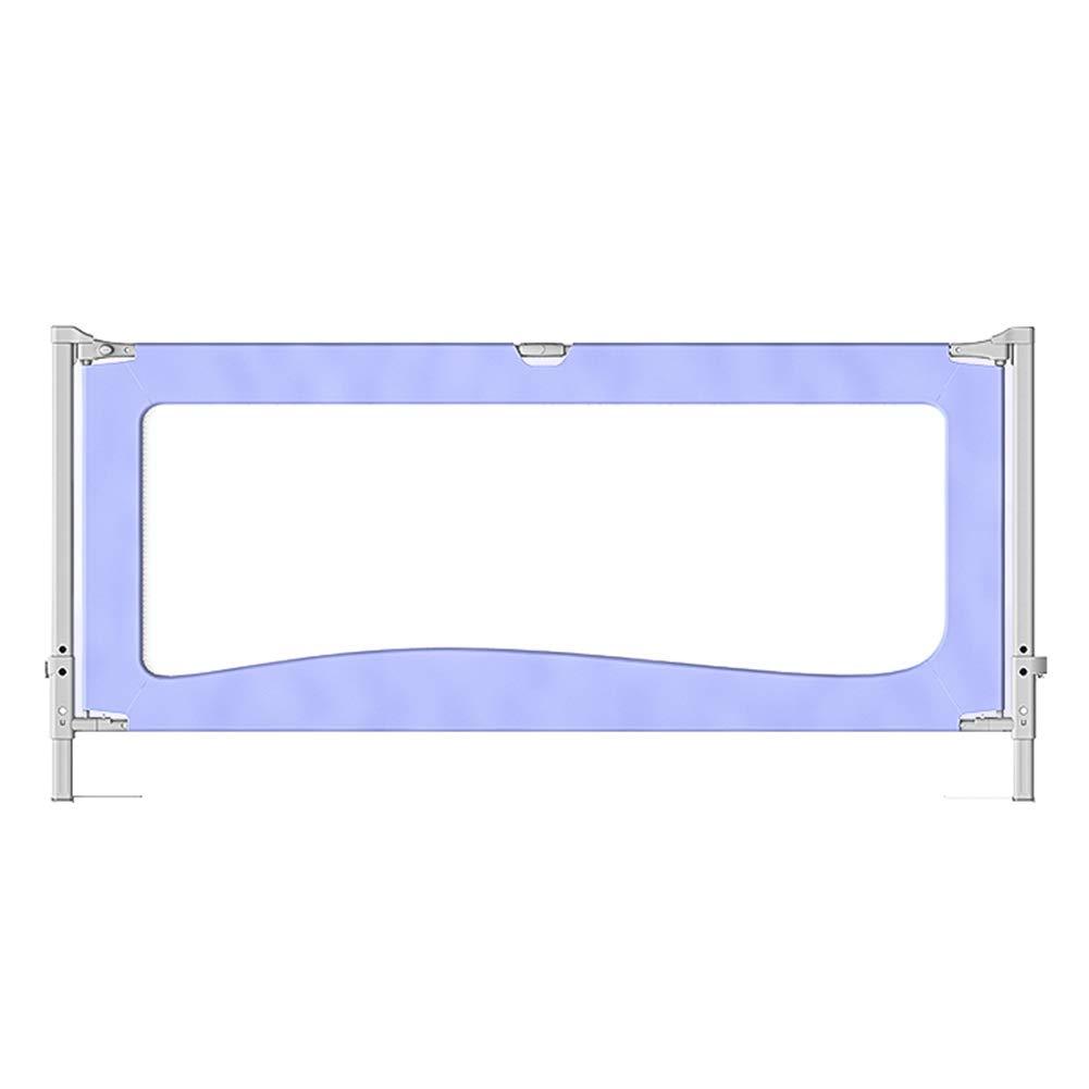 ベッドフェンス- 幼児のためのExtrs背の高い85 cmのベッドレール、キングサイズベッド(4色)への垂直リフト睡眠のベッドレールポータブルベビーベッドレール (色 : Purple, サイズ さいず : 180cm) 180cm Purple B07MTGNG64
