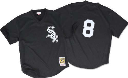 Bo Jackson Black Chicago White Sox Authentic Mesh Batting Practice Jersey Large (White Sox Batting Practice Jersey)