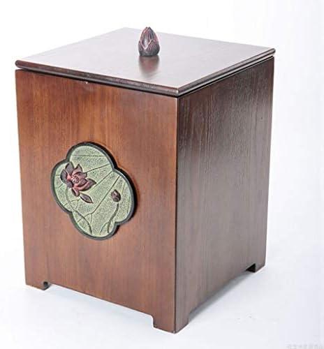 ゴミ袋 ゴミ箱用アクセサリ クリエイティブレトロゴミ箱リビングルームの寝室収納ボックス中国ホーム多機能ゴミ箱 キッチンゴミ箱 (Color : C)