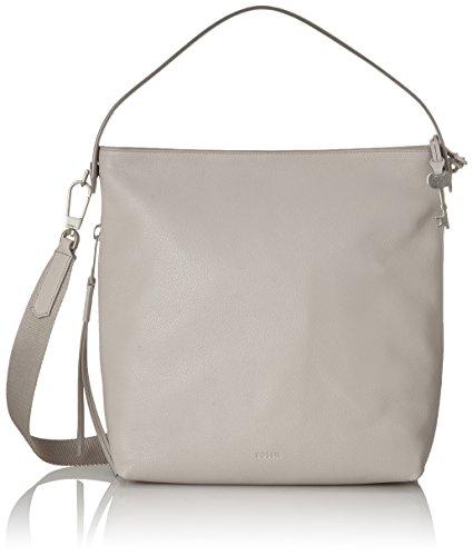 Fossil - Damentasche? Maya Small Hobo, Borse a spalla Donna Grigio (Mineral Grey)