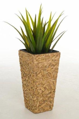Einzel Pflanzkübel Pflanzgefäß Blumenkübel aus Wasserhyazinthe