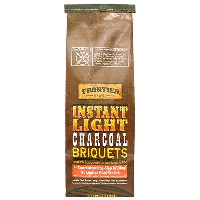 7.2 lbs Instant Light Charcoal Briquets