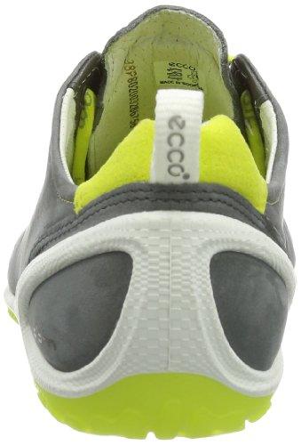 Ecco BiomLite - zapatillas de running de cuero mujer negro - Schwarz (Dark Shadow/Sulphur Starbu/Syn58408)