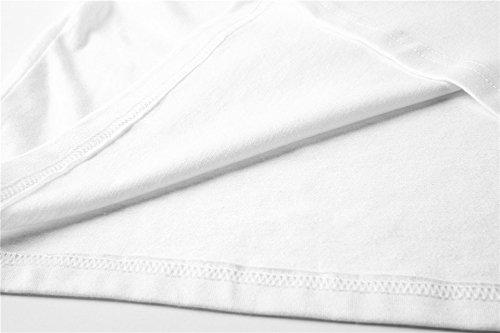 Bianco6 xxxl Unisex Xxs T Moda Bts Donna Love Ctooo Shirt Fake BwvR1aq