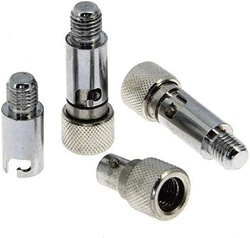 g8ds/® 3X Quick Release Adapter Stainless Steel Bank Stick Rod Pod Bissanzeiger Karpfenangeln Angelausr/üstung