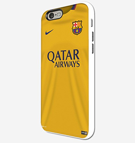 Cooliphone4Cases.com-2574-Barcelona jersey 2015 iPhone 4 Case White-B01LXW09CY-T Shirt Design