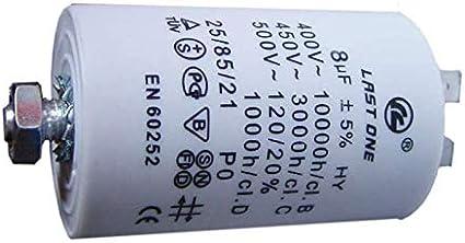 5UF Condensateur 5 mfd machine à laver sèche-linge Réfrigérateur congélateur lave-vaisselle