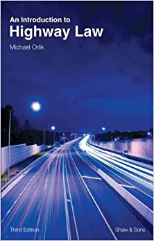 Book An Introduction to Highway Law