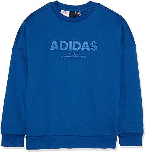 Manches Allcap Collegiate Sweat Pour Garçon Adidas shirt blue À Crew Royal Longues XgqXfAOw
