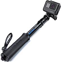 SANDMARC Pole - Compact Edition: 25-64 cm Waterproof Pole (Selfie Stick) for GoPro Hero 6 Black, Hero 5, Session, Hero 4, 3+, 3, 2 and HD Cameras