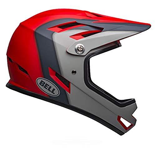 Bell-Sanction-Helmet-Matte-CrimsonSlateGray-XS-Headband-Bundle